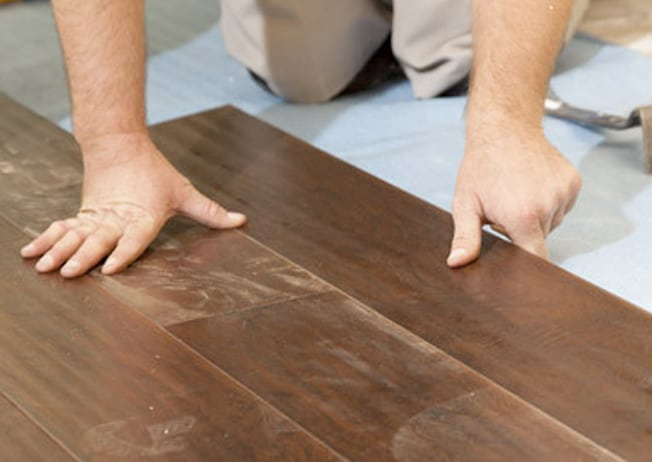 Flooring services - installation