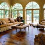 Distressed Hardwood Flooring Sample 3