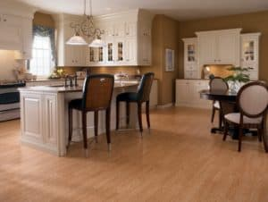Solid construction hardwood flooring