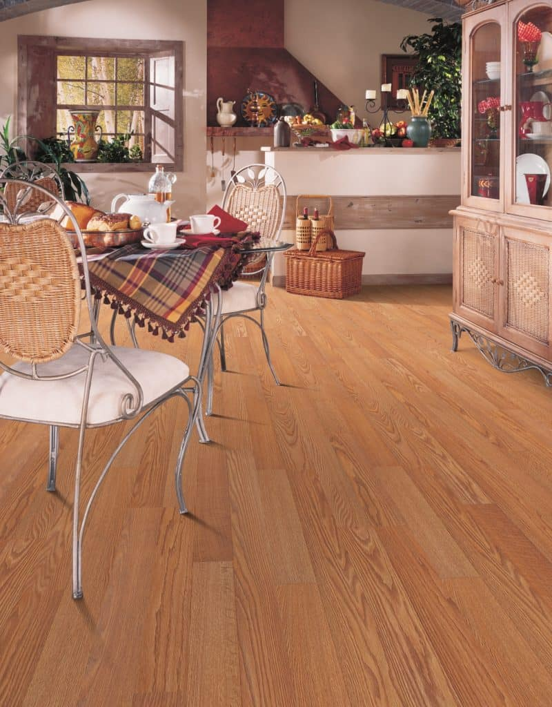 examples of solid hardwood flooring