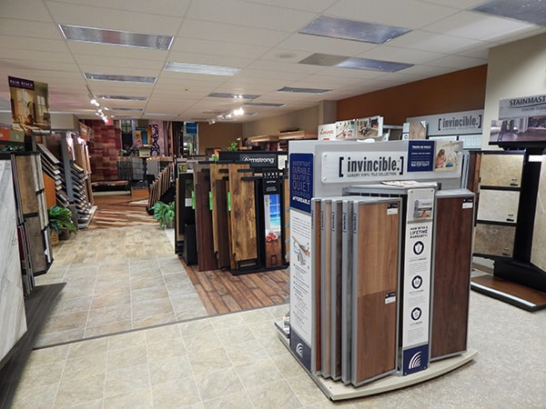 Martin's Flooring in Denver PA - showroom 3
