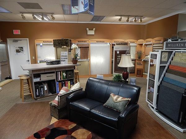 Martin's Flooring in Denver PA - design consultation lounge