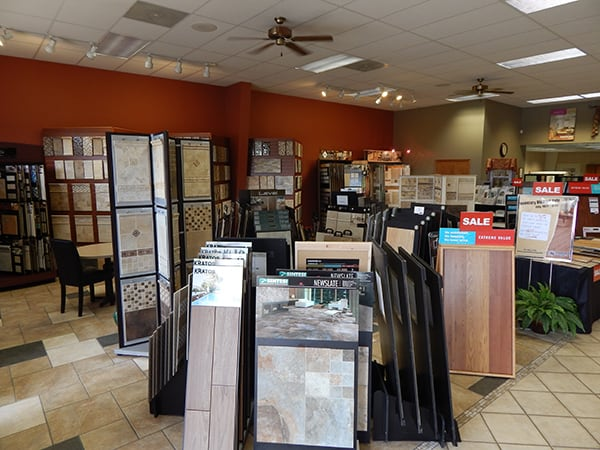 Martin's Flooring in Denver PA - showroom 1
