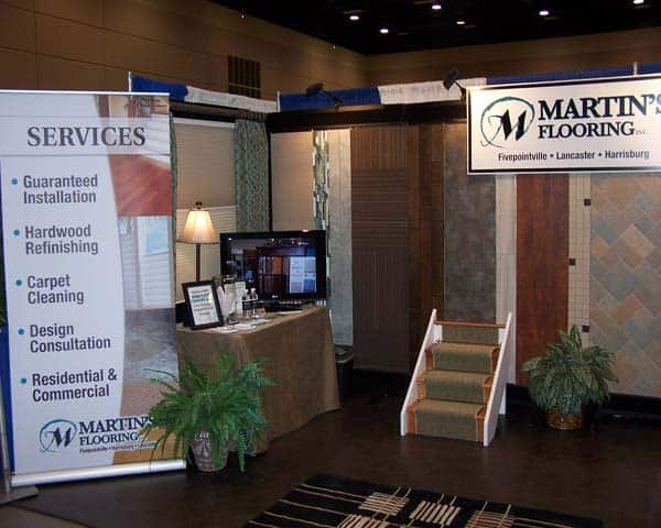 Martin's Flooring Unveils New Booth at Lancaster Home Show