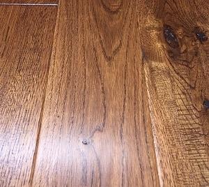 5 in Solid Oak, Handscraped, Whitney Hardwood