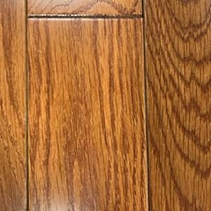 3.25 in. x 3/4 in. Solid Oak Gunstock Hardwood