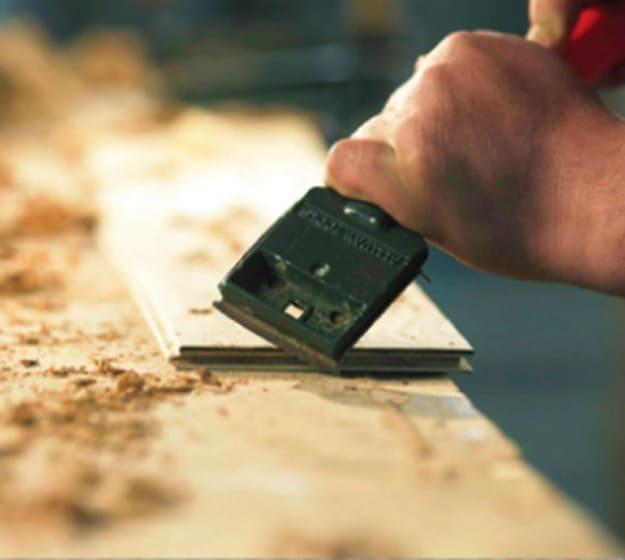 Prefinished Hand Scraped Hardwood Flooring