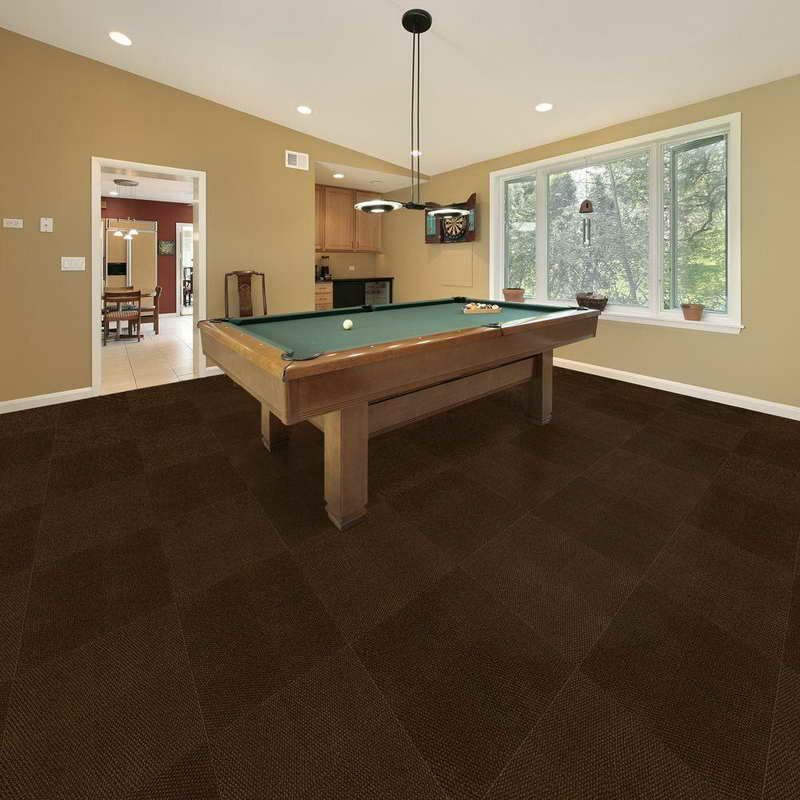 Outdoor carpet shop all carpet options at martin 39 s for Best carpet for basement family room