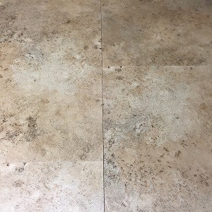 Stone Look 18x18 Groutable LVT