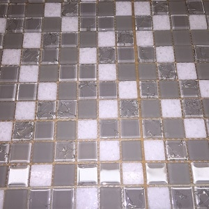 Stone and Glass Mosaic Tile, Sugar in the Raw