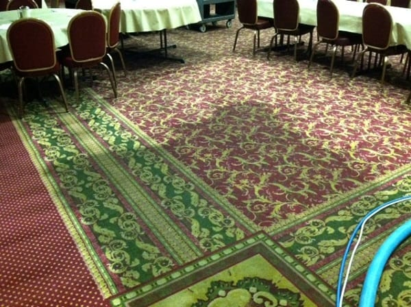 Martin's Floor Maintenance Division Makes Banquet Facility Flooring Look Like New!