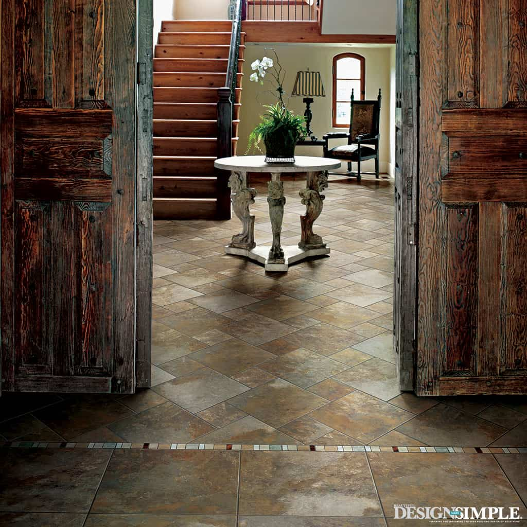 Natural stone beauty inspired by nature for Inspire flooring