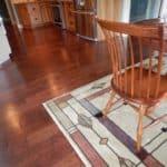Kitchen Floor and Area Rug