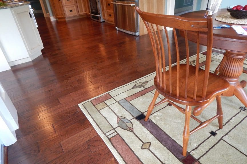 Kitchen Floor and Area Rug