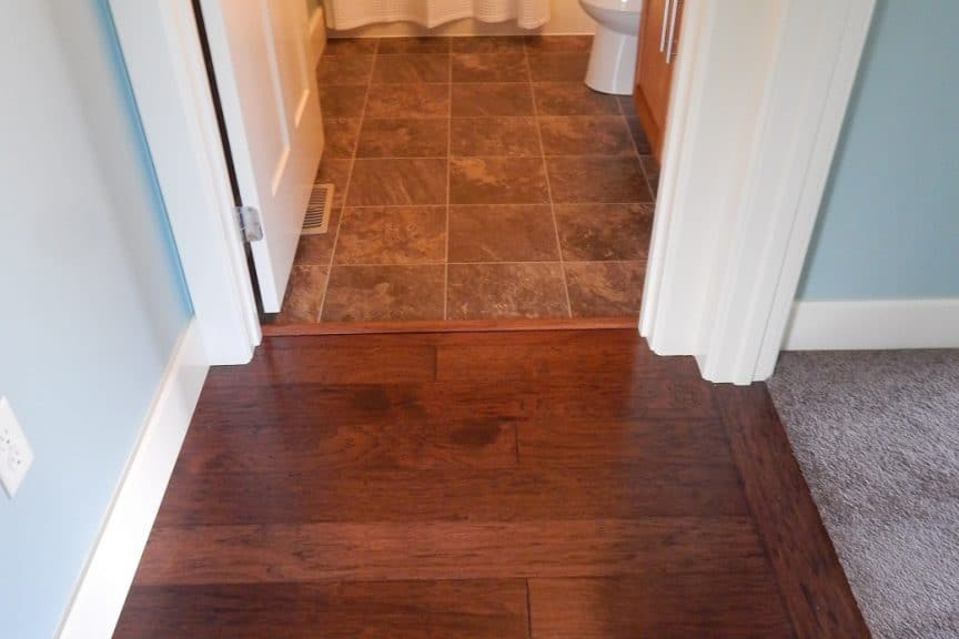 Hall and Bathroom Transition