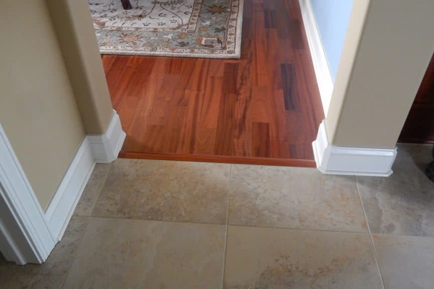 Hall and Dining Room Transition