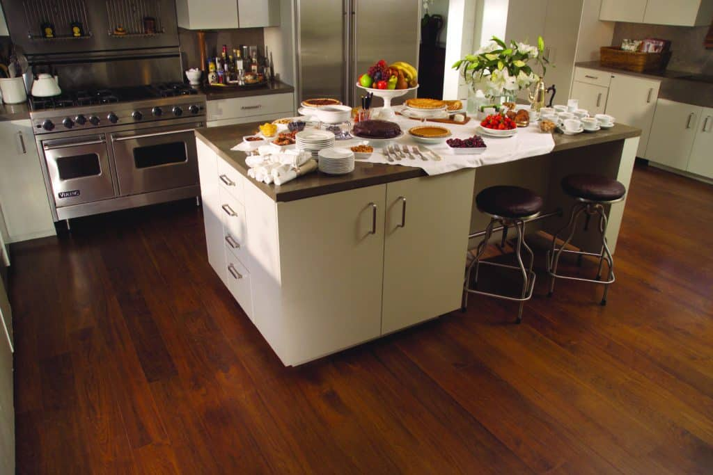 Hardwood Floors in Kitchen