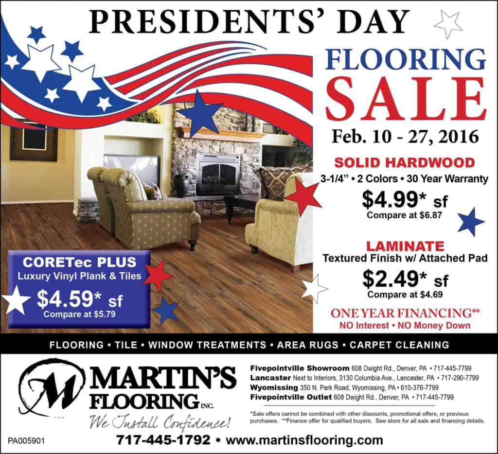 Feb. President's Day Sale ad Emailweb16