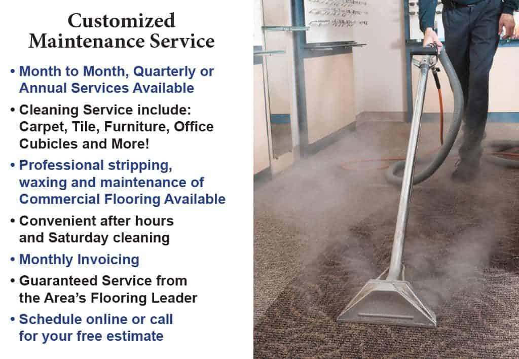 Commerical Floor Customized Maintenance Service list 2-16