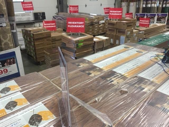 plank flooring closeouts