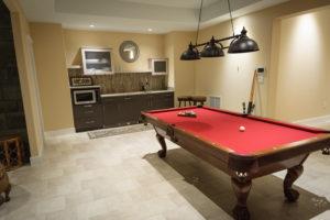 waterproof flooring in basement