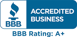 Better Business Burear A+ Rating