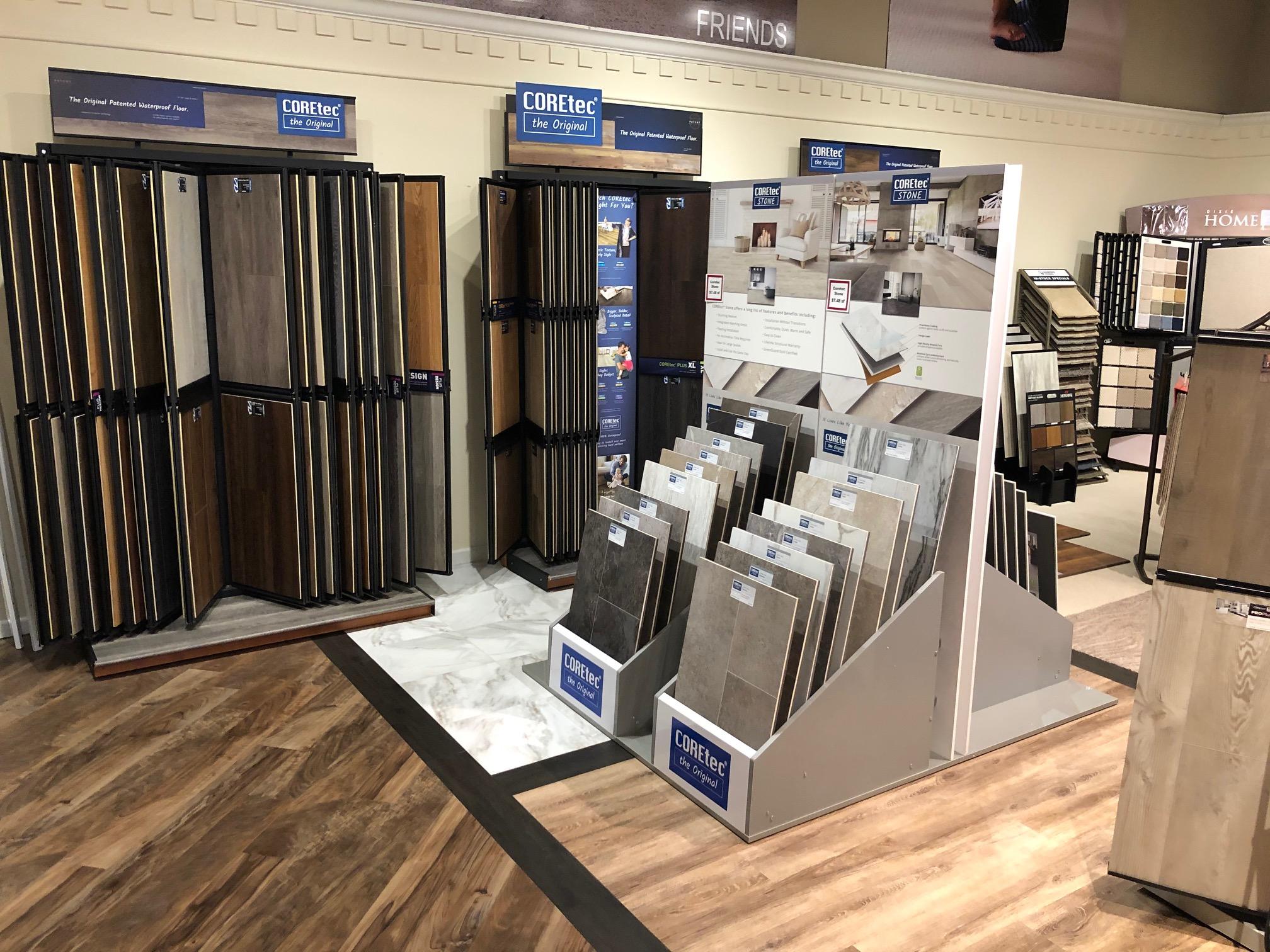 Lancaster Store Coretec Displays