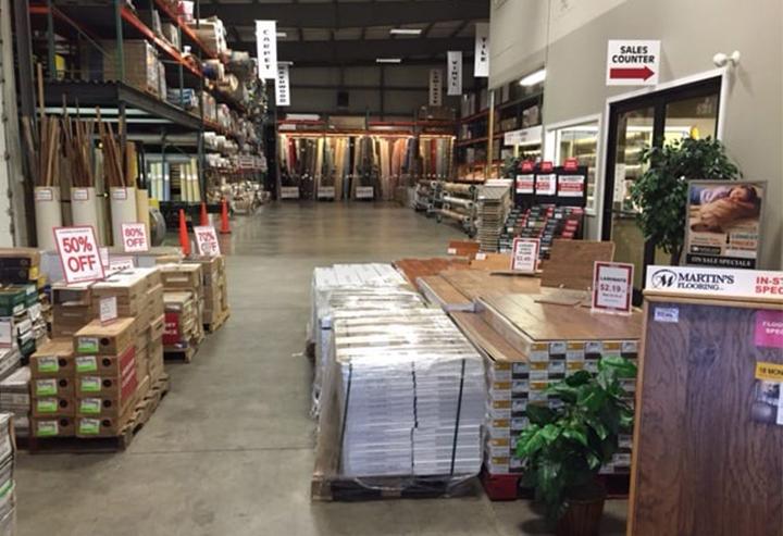 Waterproof laminate flooring sale at Martin's Flooring Outlet in Denver PA